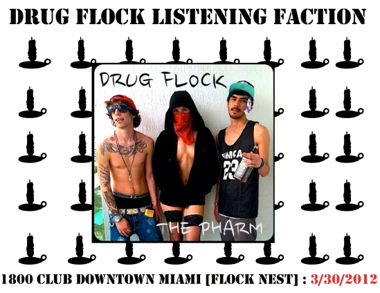 drugflocklisteningparty
